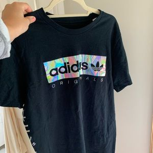 adidas Tops - RARE Addis's originals reflective tee